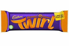 Cadbury Twirl Orange Limited Edition Chocolate Bars- 43g X 48 (Full Box)