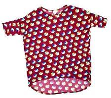 Lularoe Hi Lo Tunic Women Tops Shirts Size M