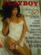 Playboy Magazine February 1995 - Fabulous at 40 -  Like New