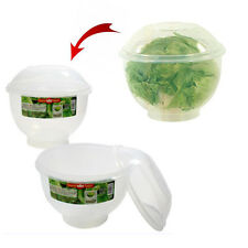 Lettuce Crisper Salad Keeper Container Food Saver Storage Fresh Fruit Vegetable