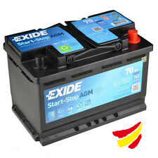 Batería AGM Tudor Exide EK700 Start-Stop 70Ah, 12V