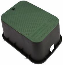 Control Valve Box Outdoor Garden Sprinkler Lawn Water Irrigation Cover Lid 17 In