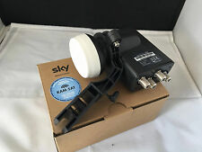 SATELLITE QUAD LNB 4 WAY ZONE 2 WITH OLD BRACKET ADAPTER FOR SKY ASTRA