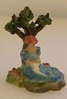 Vintage Hand Sculpted Porcelain Miniature Dollhouse Figurine By Bernice Stevens