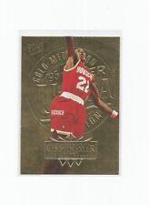 1995-96 FLEER ULTRA GOLD MEDALLION CLYDE DREXLER HOUSTON ROCKETS #66 NM-MINT!!!