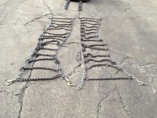 Tire Chains for 16.00x20 14.00x24  Tire, 1 set, New