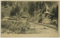 Postcard Shasta Springs CA Railroad Depot Train Station RR California 1900's