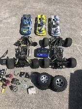2 Rc Radio control Nitro Truck Chassis & parts lot