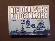 Buch, Elfrath, Die Deutsche Kriegsmarine 1935-1945, alle 4 Bände in Einem, 1998