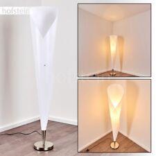 Lampadaire Retro Lampe sur pied Design Lampe de séjour blanche Luminaire Métal