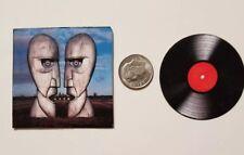 Miniature record album Barbie Gi Joe 1/6   Playscale Pink Floyd Division Bell
