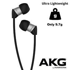 AKG Y23 Ultra Lightweight High Quality In-Ear Headphones Earbuds Earphones Black