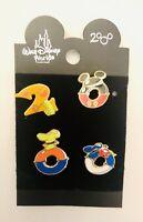 Walt Disney World Year 2000 mickey Donald Goofy & Pluto Set Of Four Pins