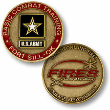 U.S. Army / Basic Combat Training, Fort Sill, OK - FIRES Challenge Coin