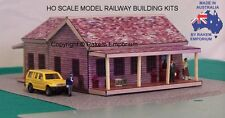HO Scale Larger Style Farm House with Optional Rebates Model Building Kit REHV2
