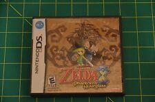 The Legend of ZELDA Phantom Hourglass Nintendo DS Case Manual Cartridge TESTED