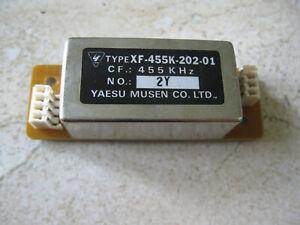 Yaesu YF-110SN XF-110SN (XF-455K-202-01) 2.0Khz SSB filter in Excellent shape