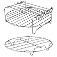 Accessoires de Friteuse à Air - Ensemble de 2 Grilles de Friteuse à Air, Gr G6T8