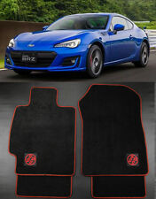 JDM GT86 Carpet Floor Mats Front Rear 4Pcs For 13-16 Subaru BRZ Scion FR-S