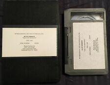 SCOTT MERRITT-ARE YOU SENDING/1990 IRS REC U-MATIC SINGLE PROMO MUSIC VIDEO +DVD