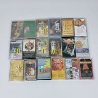 Vintage Christmas Cassette Tapes assortment lot of 18