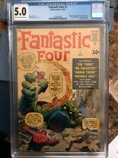 Fantastic Four #1 CGC 5.0 /  OFF-WHITE - WHITE pages / THE Marvel Silver Age Key