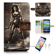 ( For Samsung Galaxy S5 ) Case Cover S9090 Wonder Woman