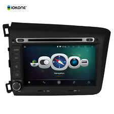 Honda Civic 2012 2013 Android 4.4.4 Quad Core Mirror Link Car DVD GPS Radio Wifi