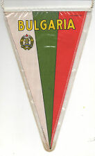 Orig.pennant    Bulgarian Football Union - 80th  //  27,5 x 17 cm  !!  RARE