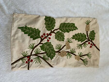 Pottery Barn Holiday Lumbar Pillow Cover Approx 15x26
