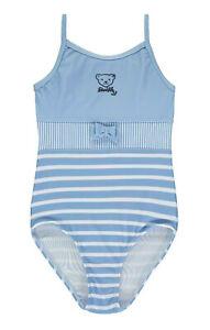 STEIFF® Mädchen Beachwear Badeanzug Blau Gr. 98-122 S 2020 NEU!