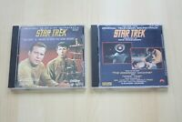 Star Trek Original TV Soundtrack (GNPD-8006) & Volume 2(GNPD-8025)