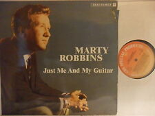 Marty Robbins - Just Me And My Guitar- LP 1983 D - Bear Family BFX 15119