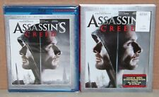 Assassin's Creed 3D (Blu-ray 3D/2D, 2017, Digital) Brand New, Sealed, Slipcover