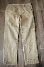 Boys Men's Hollister Pants Khaki/Beige 28X30 Gently Used School Uniforms