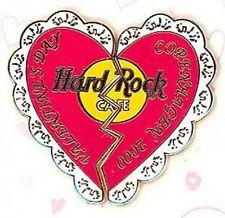 Hard Rock Cafe COPENHAGEN 2000 VALENTINE'S DAY PIN Broken Heart LE 250 Made!
