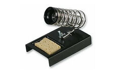 Qualité métal fer à souder stand holdetr avec éponge