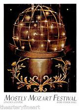 ROSS BLECKNER 'Sphere and Molding', 1987 Limited Edition SILKSCREEN Poster *NEW*