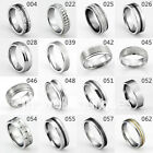 Classic Man / Woman Tungsten Carbide Wedding Anniversary Band Ring Size 4 -15