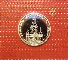 BRD 10 Deutsche Mark 1995 J Frauenkirche Dresden PP  15,5g  625er Silber