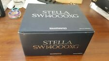 Shimano stella 14000XG beautiful goods withe Brand new 100LB braid line