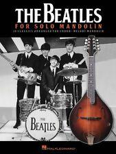 The Beatles for Solo Mandolin Sheet Music Mandolin Book NEW 000128672