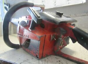 """VINTAGE COLLECTIBLE HOMELITE XL-925 CHAINSAW WITH 28"""" BAR"""