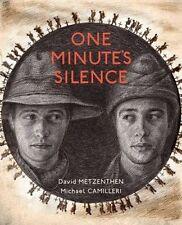 One Minute's Silence by David Metzenthen BNew HB ANZAC Gallipoli FREE Shipping