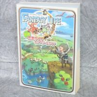 FANTASY LIFE Complete Guide Japan Nintendo 3DS Book 2013 EB95