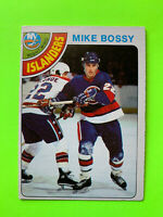 Mike Bossy ROOKIE 1978-79 O-Pee-Chee NHL Hockey Card OPC #115 New York Islanders