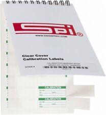 SPI Calibration Label