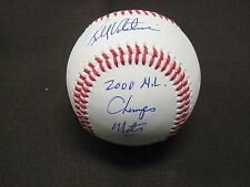NEW YORK METS BELOVED MANAGER BOBBY VALENTINE  SIGNED AUTO INSCRIBED BALL W/COA