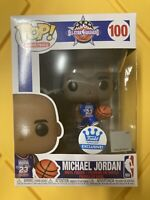 Funko Pop MICHAEL JORDAN ALL-STAR Uniform 100 FUNKO SHOP EXCLUSIVE IN HAND