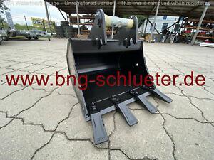 - Tieflöffel Baggerlöffel - MS01 Symlock - 500 mm -